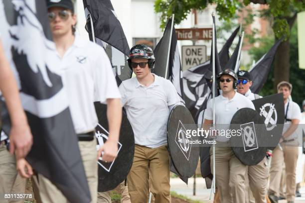 NeoNazis white supremacists and other altright factions scuffled with counterdemonstrators near Emancipation Park in downtown Charlottesville...