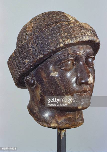 NeoSumerian Alabaster Head of UrNingirsu