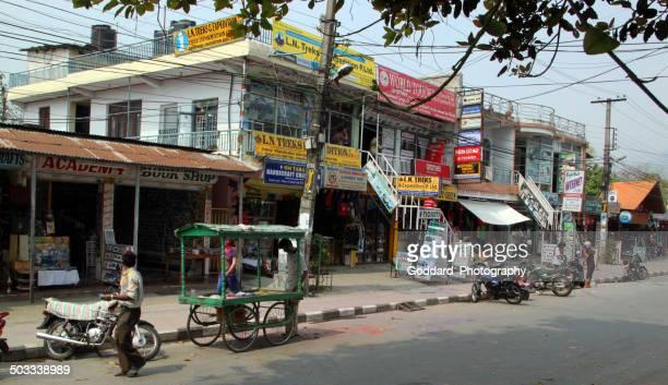 nepal: city of pokhara - pokhara stock pictures, royalty-free photos & images