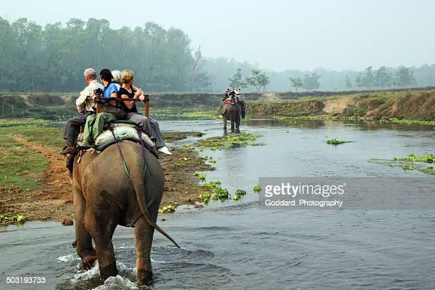Nepal: Elephant Safari at Chitwan National Park