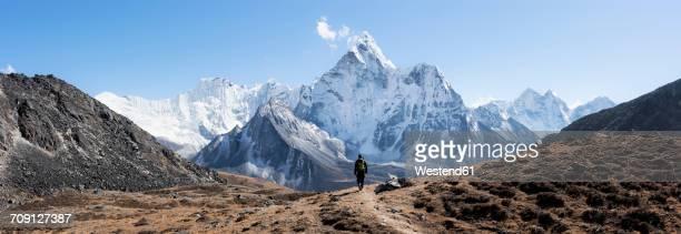 Nepal, Himalaya, Khumbu, Everest region, Kongma La, Ama Dablam