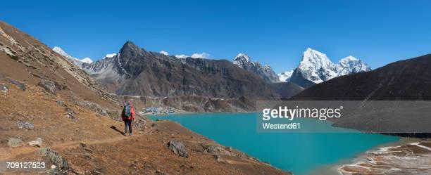 Nepal, Himalaya, Khumbu, Everest region, Renjo La, Gokyo Lake