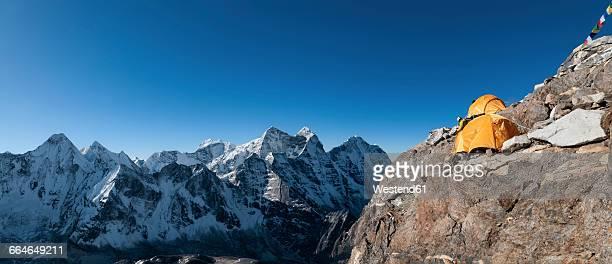 Nepal, Himalaya, Solo Khumbu, Camp 2, Ama Dablam South West Ridge