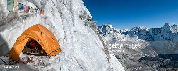 Nepal, Himalaya, Solo Khumbu, Camp 3, Ama Dablam South West Ridge