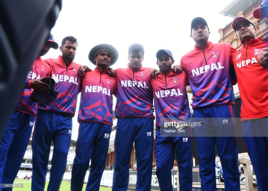 T20 Triangular Tournament - MCC, Nepal & The Netherlands : News Photo