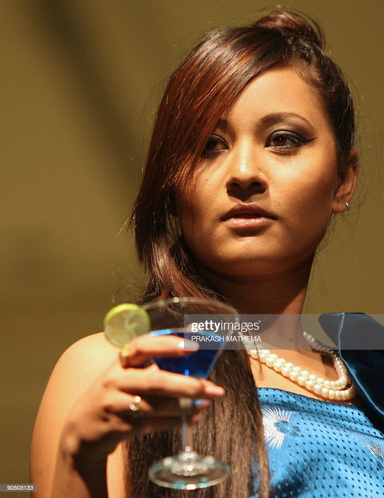 Nepalese and indian models showcase desi pictures getty images nepalese and indian models showcase designs on the catwalk during a nepal fashion week event in voltagebd Images