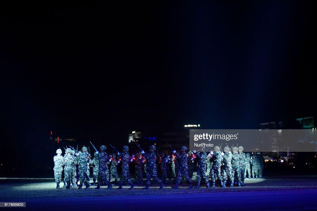 Army Day Celebration in Nepal : News Photo