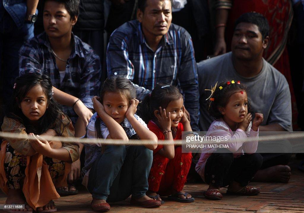 NEPAL-HINDU-FESTIVAL : News Photo