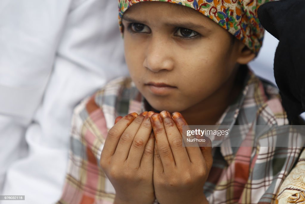 Muslim Celebrate Eid-al-Fitr In Nepal
