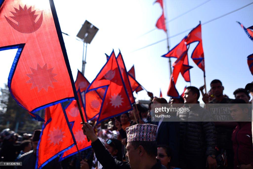 Nepal-India Border Controversy : News Photo