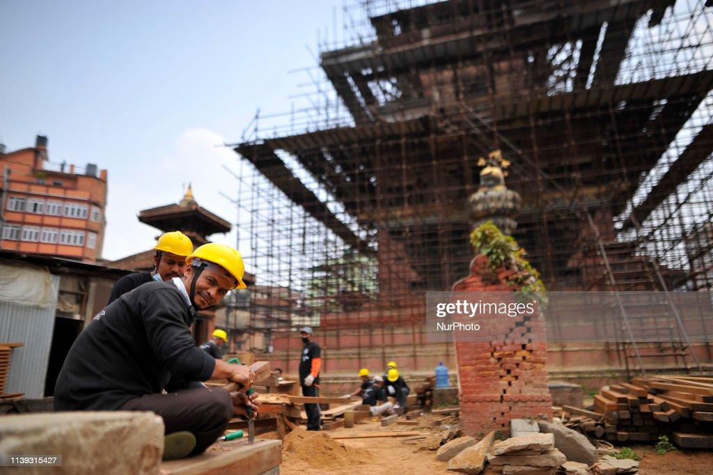 NPL: Prime Minister KP Sharma Oli Observes Post-quake Reconstruction