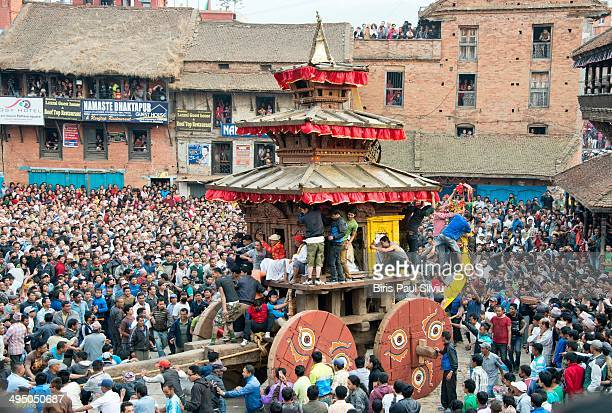 CONTENT] Nepali New Year and Bisket Jatra Festival in Nepal Bisket Jatra is the annual celebration of two of the most important deities of the town...