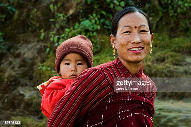 Nepali Woman and her Child The population of Nepal is a mosaic of diverse ethnic groups including the Thakali Tamang Newar Sherpa Tibetan and Gurung...