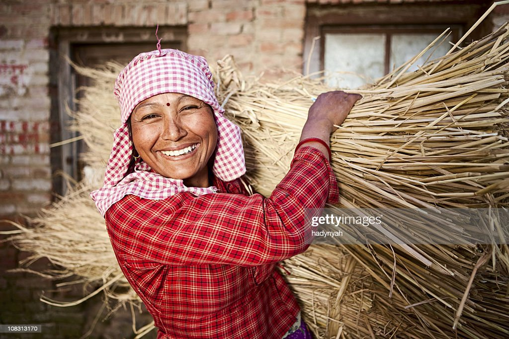 Nepali woman : Stock Photo