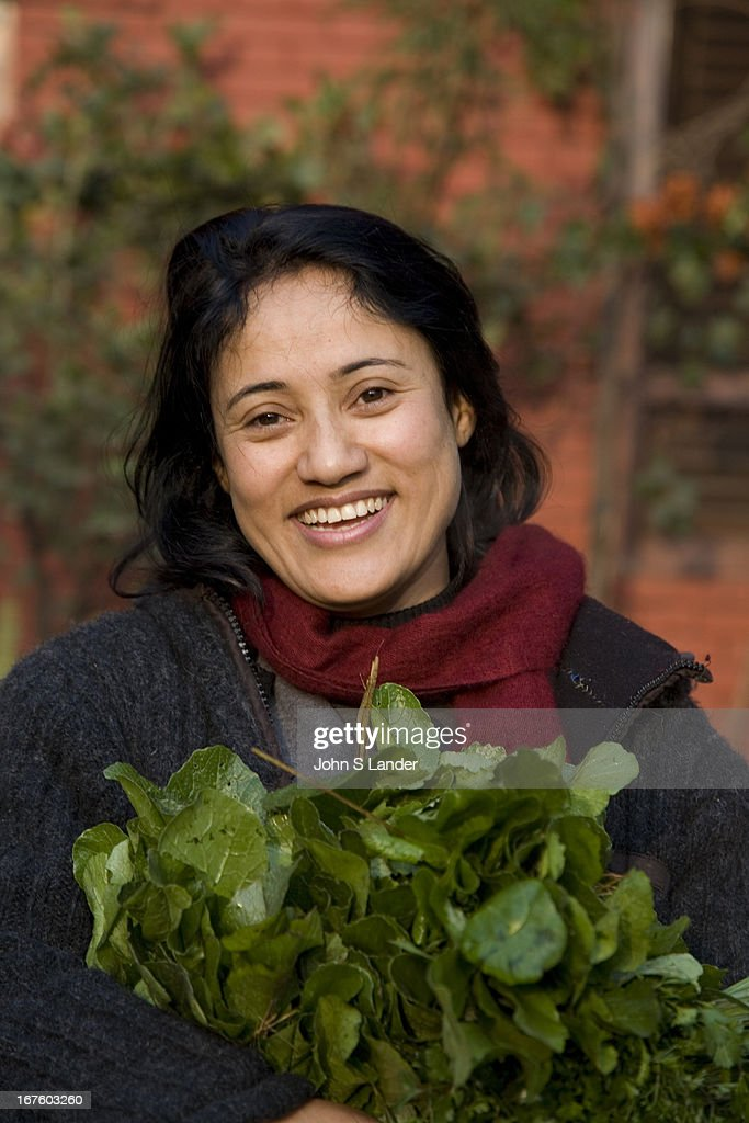 Nepali Woman - The population of Nepal is a mosaic of