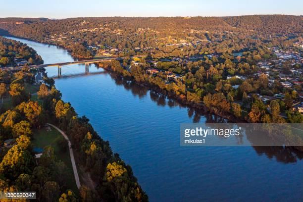 río nepean, nsw, australia - penrith fotografías e imágenes de stock