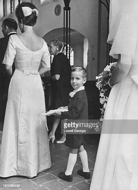 SEP 8 1966 SEP 13 1966 Nephew of Bride is ring Bearer Elliott Reno 5yearold son of Mr and Mrs Lawrence Reno lines up in procession to serve as ring...
