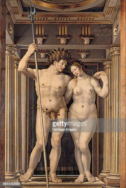 Neptune and Amphitrite 1516 Found in the collection of the Staatliche Museen Berlin