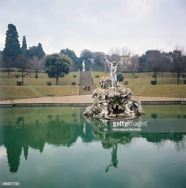 Neptune fountain in the Boboli Gardens 16th Century