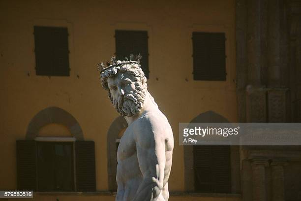 neptune - statue stock pictures, royalty-free photos & images