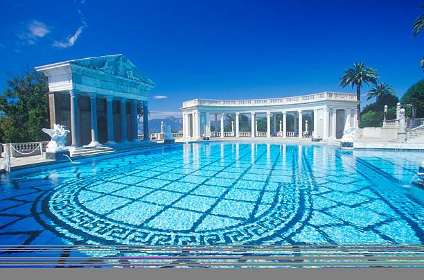 Neptune pool at hearst castle san simeon central coast - Hearst castle neptune pool swim auction ...