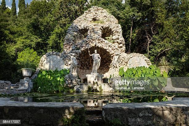 Neptune's fountain in Trsteno