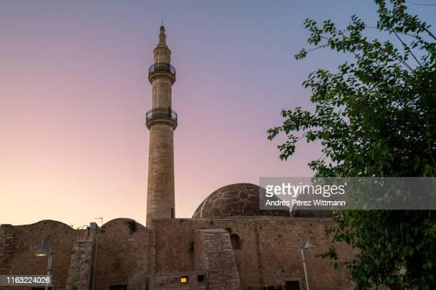 Neratze Mosque in Rethymno at dawn
