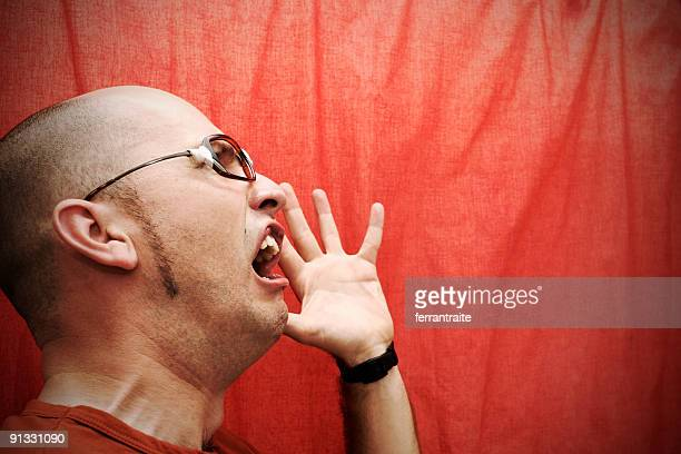 nerd 6 - ugly bald man stock pictures, royalty-free photos & images