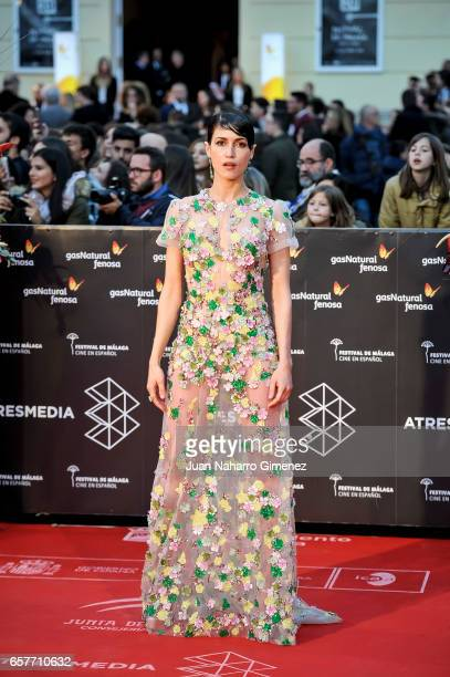 Nerea Barros attends photocall during of the 20th Malaga Film Festival on March 25 2017 in Malaga Spain