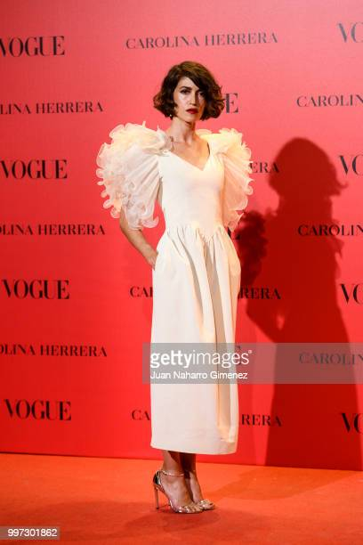 Nerea Barros attends Vogue 30th Anniversary Party at Casa Velazquez on July 12 2018 in Madrid Spain
