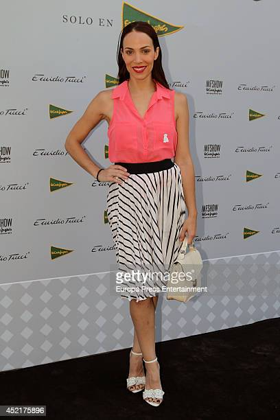 Nerea Garmendia attends photocall Emidio Tucci new collection 2015 presentation on July 14 2014 in Madrid Spain