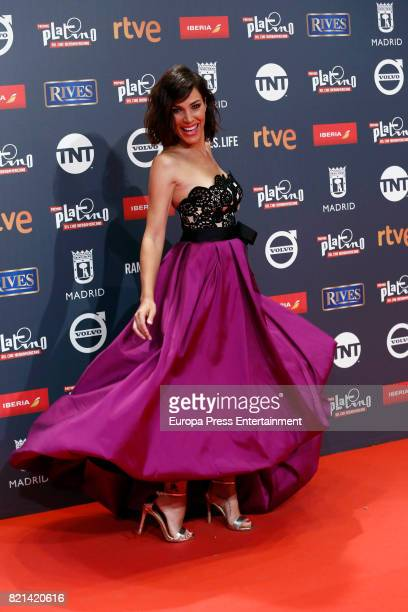 Nerea Garmendia attends Platino Awards 2017 at La Caja Magica on July 22 2017 in Madrid Spain
