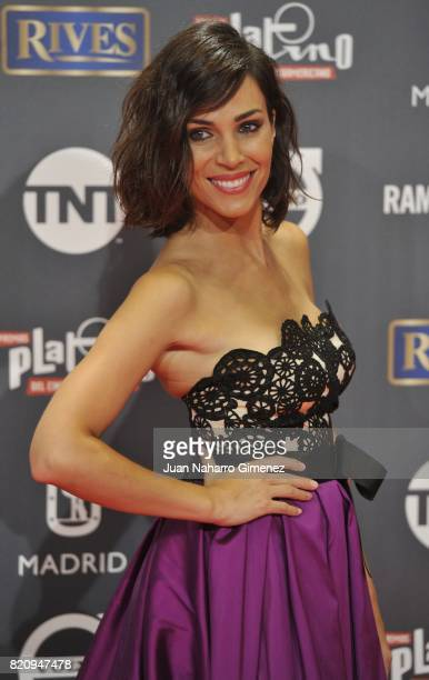 Nerea Garmendia attends the 'Platino Awards 2017' photocall at La Caja Magica on July 22 2017 in Madrid Spain