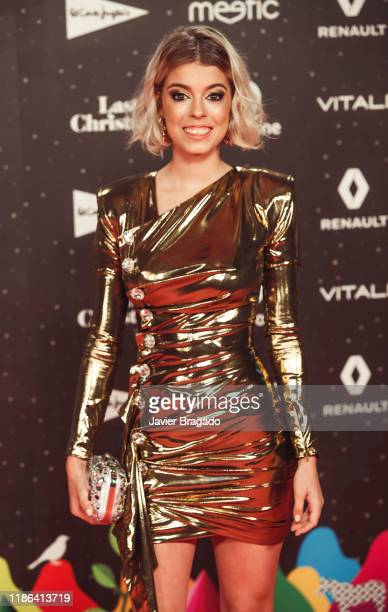 Nerea Rodriguez attends 'Los40 music awards 2019' photocall at Wizink Center on November 08 2019 in Madrid Spain