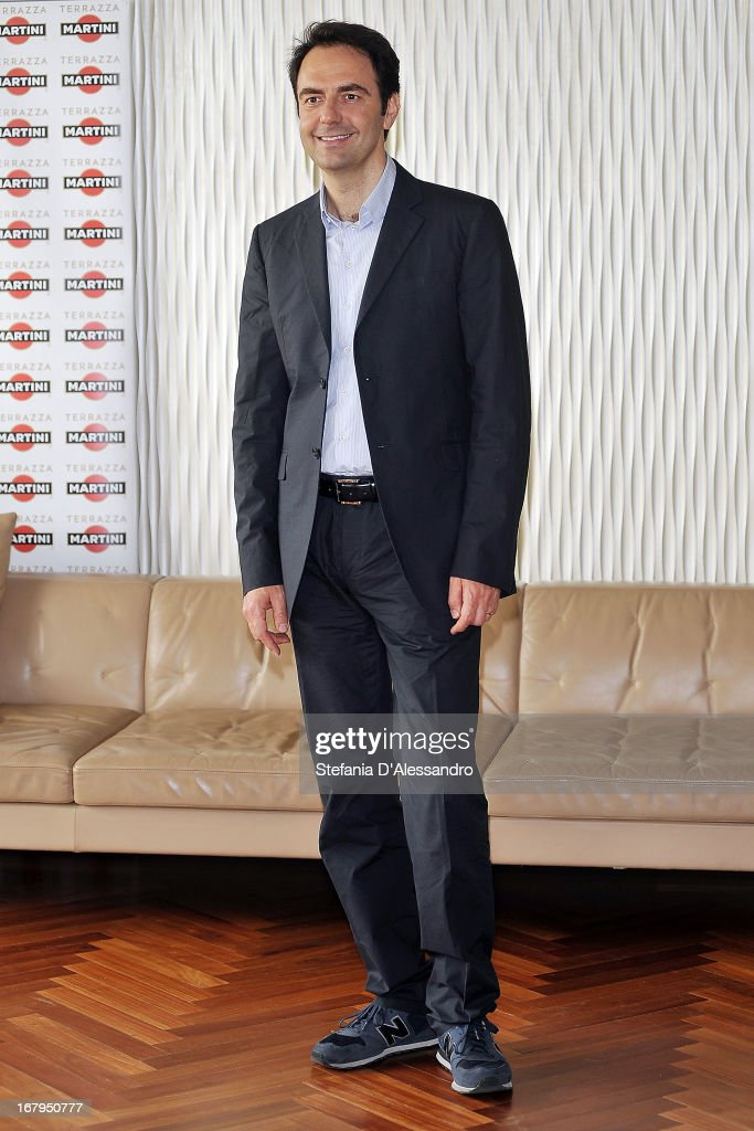 Neri Marcore attends a photocall for 'Mi Rifaccio Vivo' on May 3, 2013 in Milan, Italy.