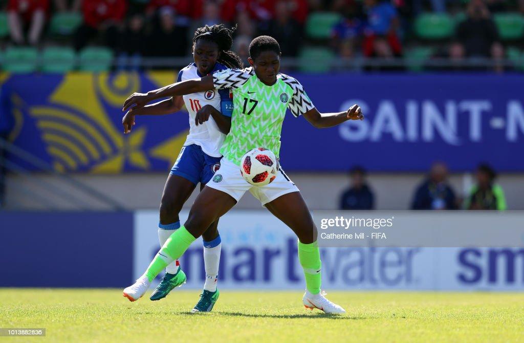 Image result for FIFA U-20 Women's World Cup Nigeria vs Haiti