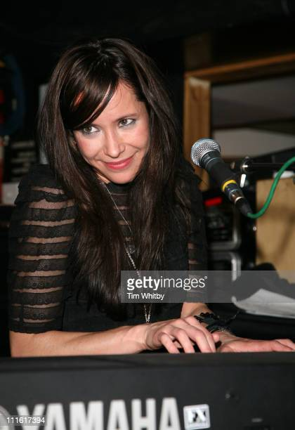 Nerina Pallot during Capital Radio -Help A London Child Charity Night at Dover Street in London, Great Britain.