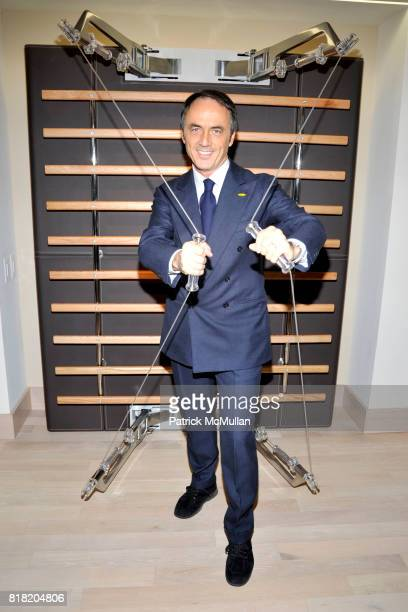 Nerio Alessandri attends Technogym US Showroom Launch Event at 70 Greene St on November 16 2010 in New York City