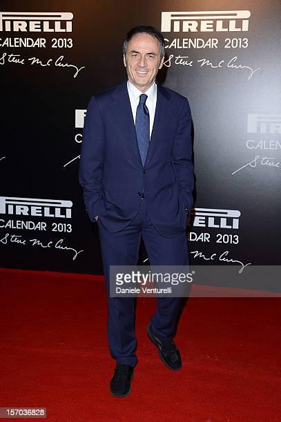 Nerio Alessandri attends the '2013 Pirelli Calendar Unveiling' on November 27 2012 in Rio de Janeiro Brazil