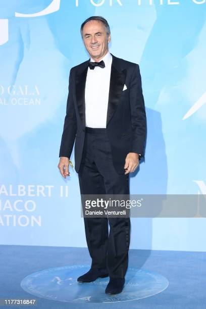 Nerio Alessandri attends the Gala for the Global Ocean hosted by H.S.H. Prince Albert II of Monaco at Opera of Monte-Carlo on September 26, 2019 in...