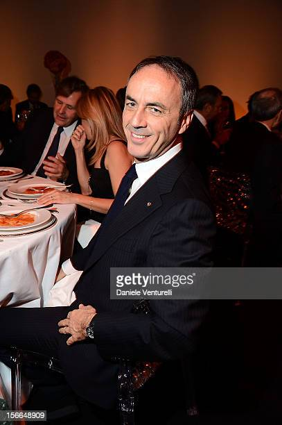 Nerio Alessandri attends the J/P HRO Charity Auction Dinner on November 17 2012 in Rome Italy