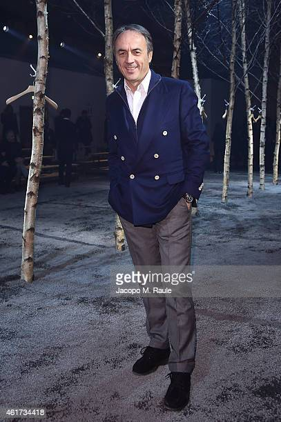 Nerio Alessandri attends the Monclear Gamme Blue during the Milan Menswear Fashion Week Fall Winter 2015/2016 on January 18 2015 in Milan Italy