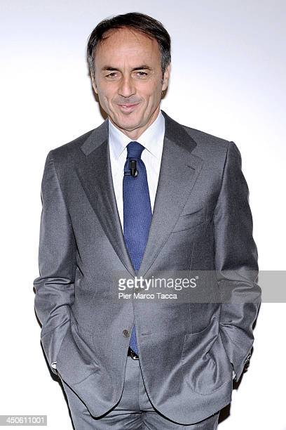 Nerio Alessandri Founder and President of Technogym attends 'Milan Fashion Global Summit' at Palazzo Mezzanotte on November 19 2013 in Milan Italy