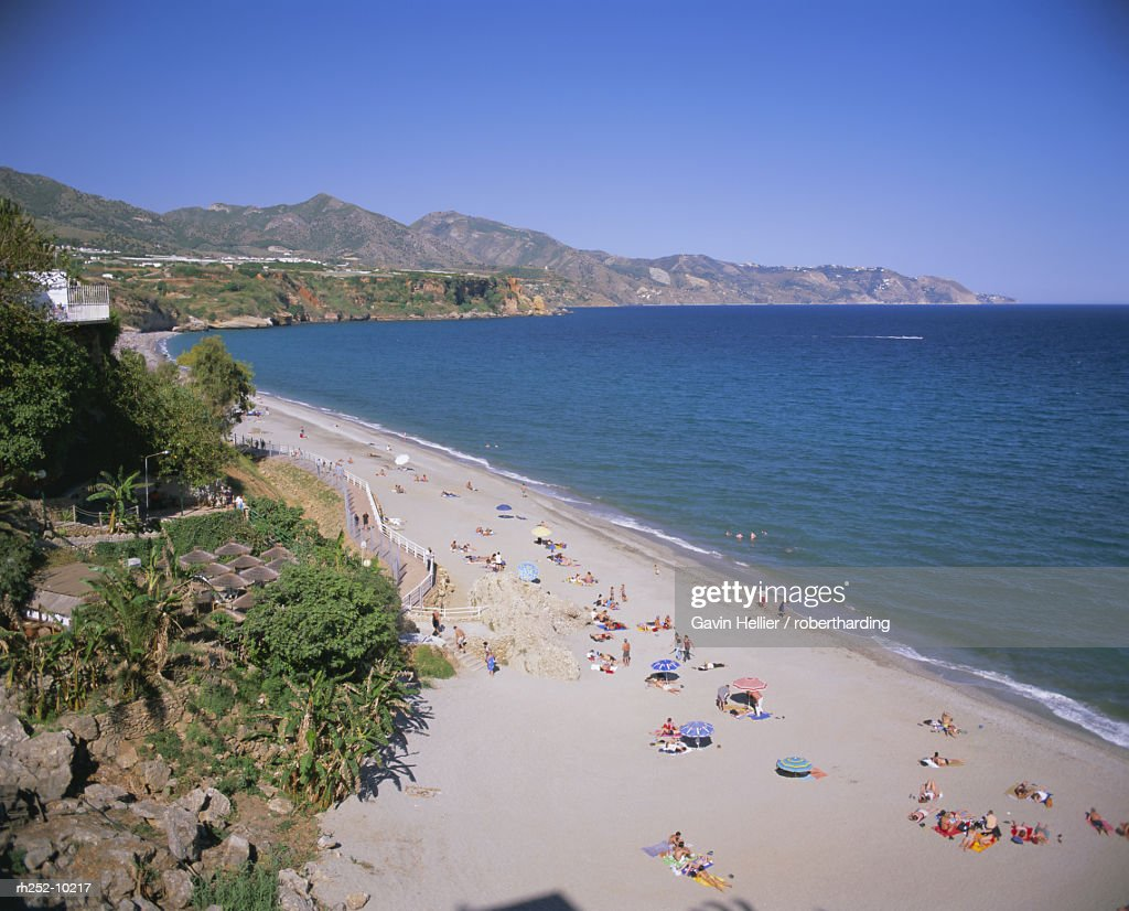 Nerja, Costa del Sol, Andalucia Andalusia, Spain, Europe : Foto de stock