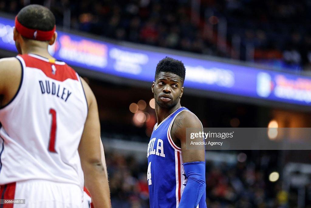 NBA - Washington Wizards vs Philadelphia 76ers : News Photo