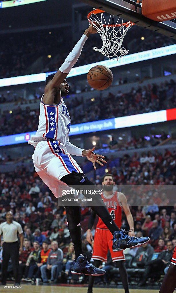Philadelphia 76ers v Chicago Bulls