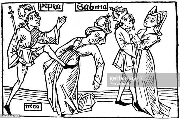 Nero and Poppaea 1479 Poppaea Sabina was the wife of the Roman Emperor Nero From Anton Sorg's edition of Giovanni Boccaccio's De Mulieribus Claris...
