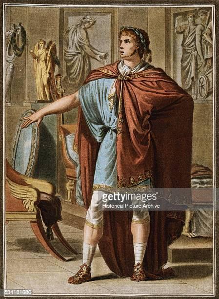 Nero Costume for Britannicus by Philippe Chery