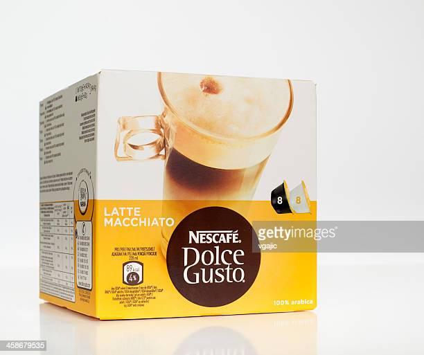 Nescafé Dolce Gusto Latte Macchiato Capsules boîte