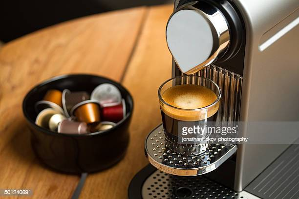 nespresso machine stock photos and pictures getty images